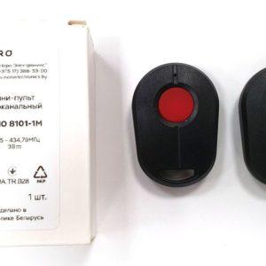 Пульт Radio 8101-1M для шлагбаума, ворот или рольставней